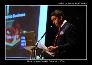 Asian Toastmaster and Public Speaker, Raaj Shamji