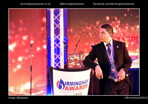 raaj shamji host asian toastmaster mc birmingham awards