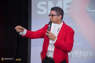 raaj shamji host asian toastmaster mc presenter