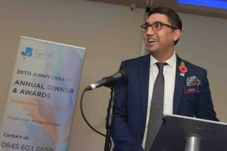 raaj shamji host asian toastmaster mc
