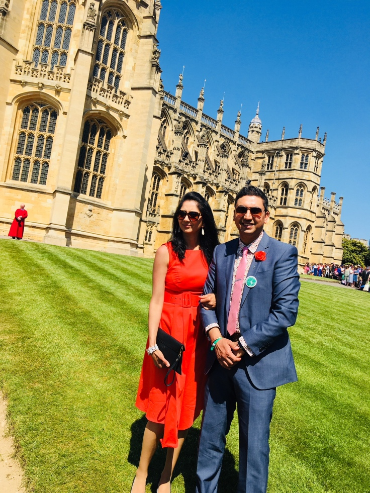 Asian toastmaster with Silpa Raaj shamji royal wedding